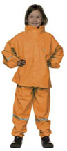 Ocean Rainwear Suit in Orange