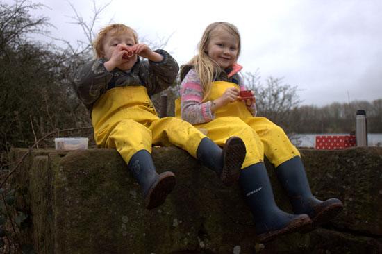 Customer Photos Of Kids In Waders From Waterproof World