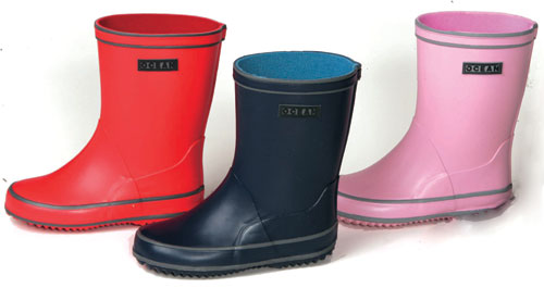 Danish natural rubber wellies