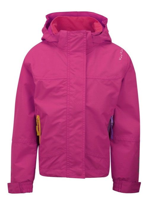 Waterproof & Breathable Jacket By Kozi Kidz in Berry (Pink)