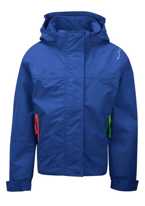 Waterproof & Breathable Jacket By Kozi Kidz in Blue