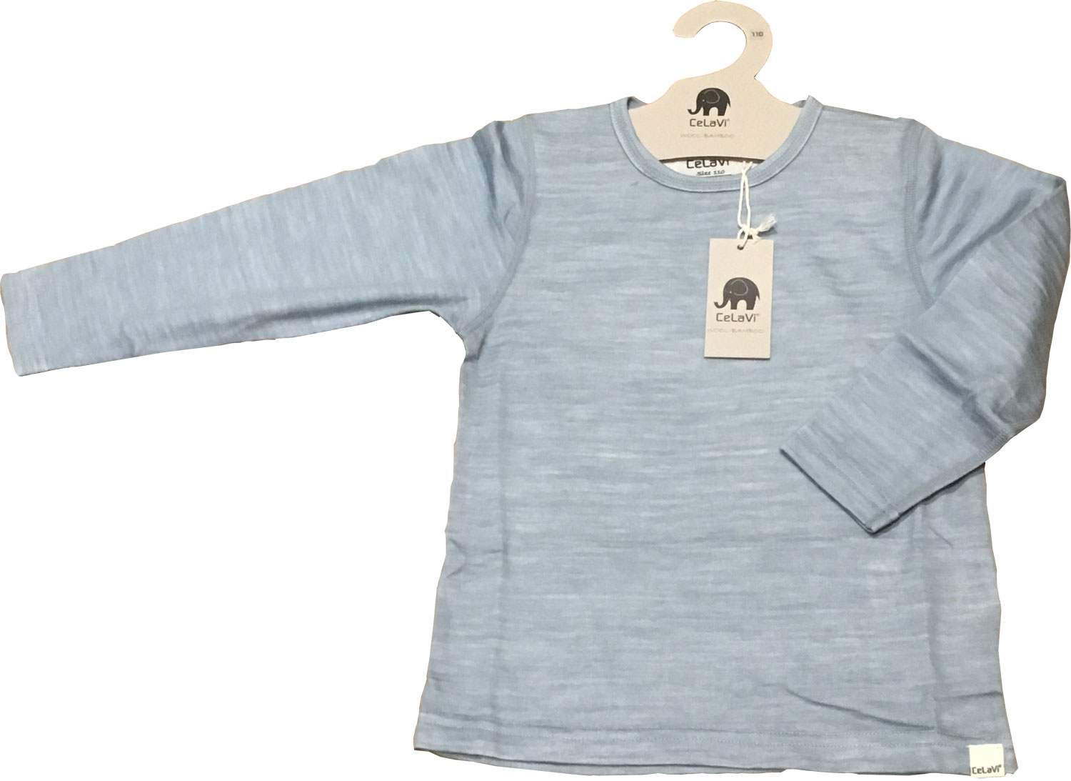dea330f330 CelaVi luxury kids base layer top with merino wool outer layer