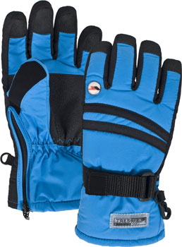 Trespass Performance Waterproof & Breathable Gloves in Cobalt Blue